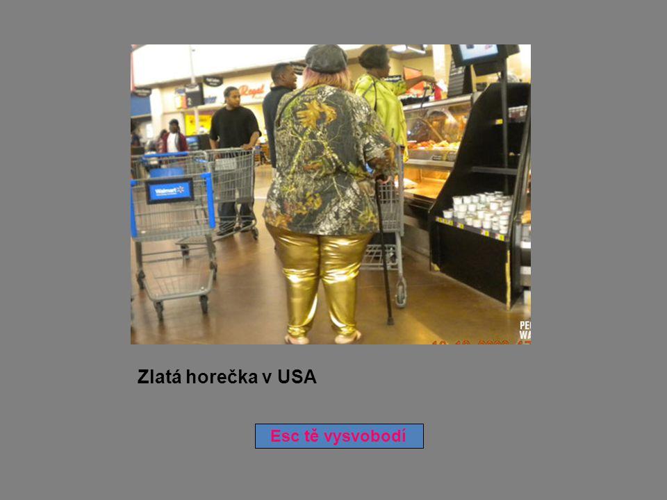 Zlatá horečka v USA Esc tě vysvobodí