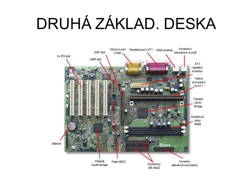 DRUHÁ ZÁKLAD. DESKA