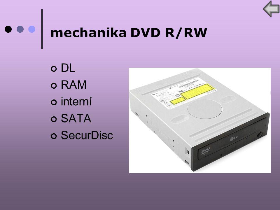 mechanika DVD R/RW DL RAM interní SATA SecurDisc
