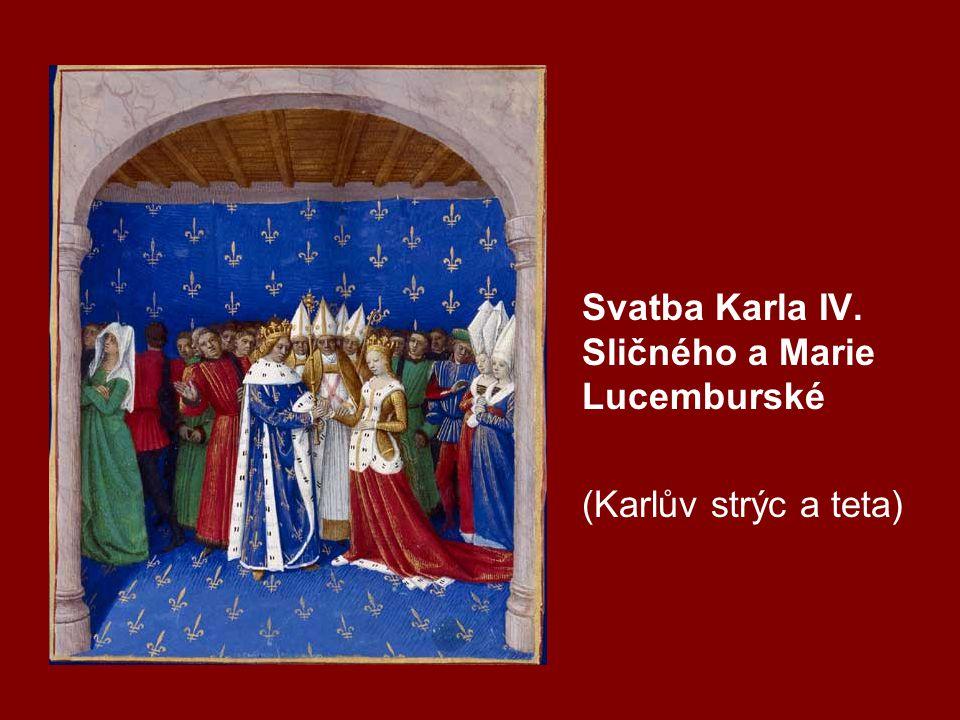 Vita Caroli -dvacet kapitol (prvních 14 dílem Karla IV.) události do r.