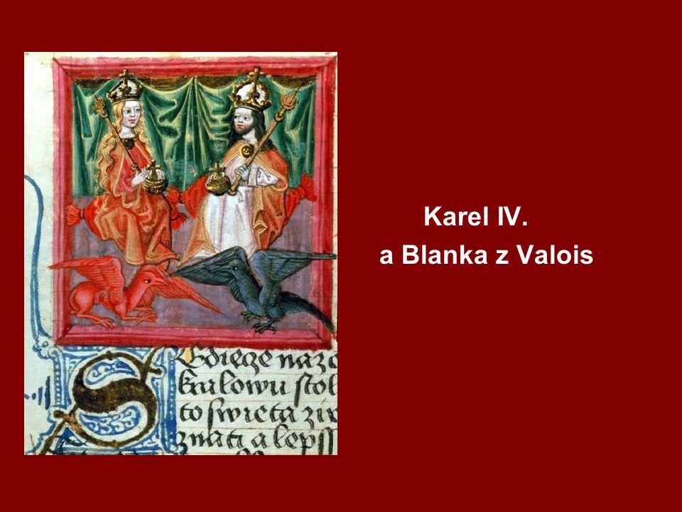 Vita Caroli V ten čas jsme jednou jeli koňmo z Křivoklátu do Prahy, abychom se sešli se svým otcem, který byl na Moravě.