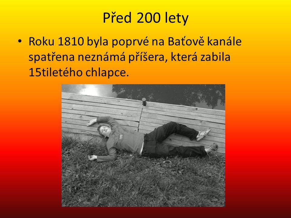 Před 200 lety Roku 1810 byla poprvé na Baťově kanále spatřena neznámá příšera, která zabila 15tiletého chlapce.