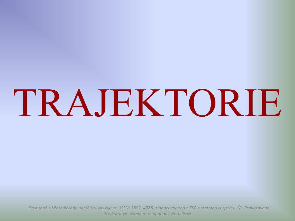 TRAJEKTORIE Dostupné z Metodického portálu www.rvp.cz, ISSN: 1802–4785, financovaného z ESF a státního rozpočtu ČR. Provozováno Výzkumným ústavem peda
