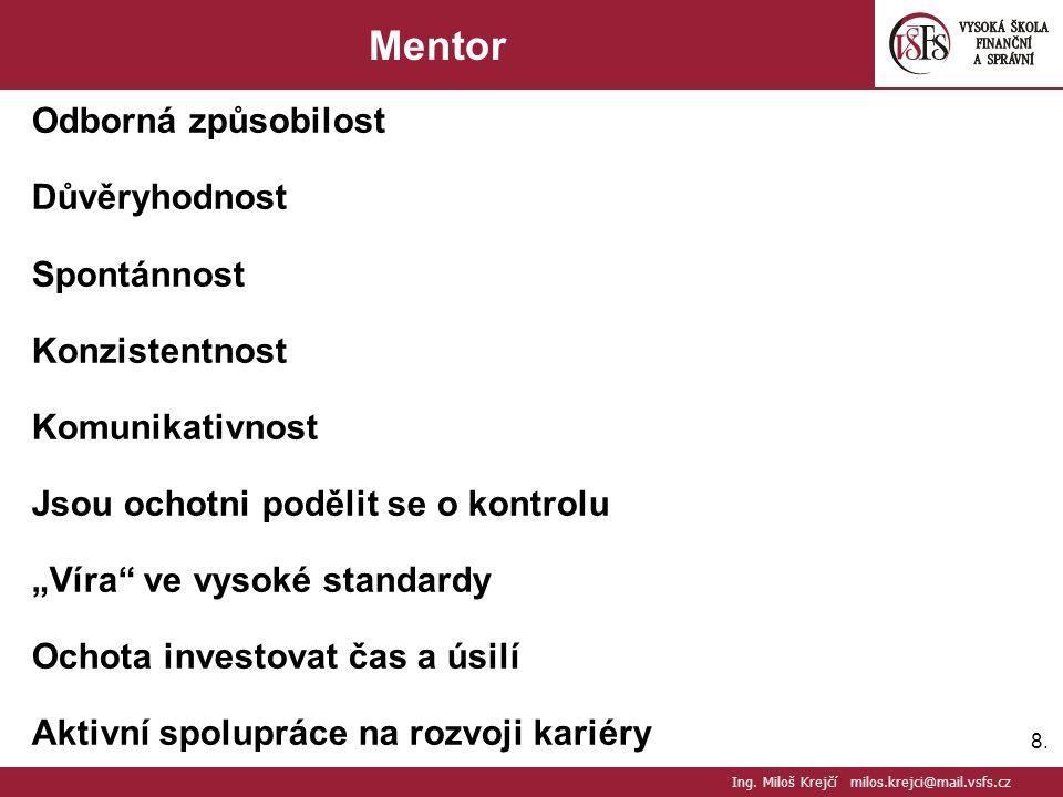 29. Řízení Lidských Zdrojů Ing. Miloš Krejčí milos.krejci@mail.vsfs.cz