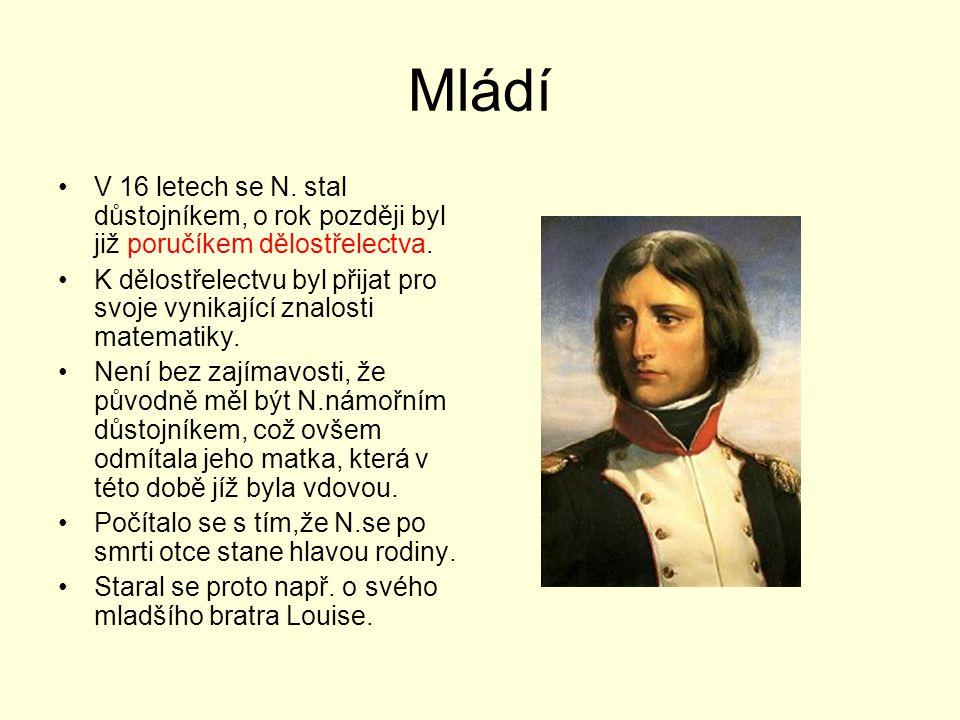 Egyptské tažení První z neúspěšných N.tažení bylo v.1798 jeho dobrodružství v Egyptě.