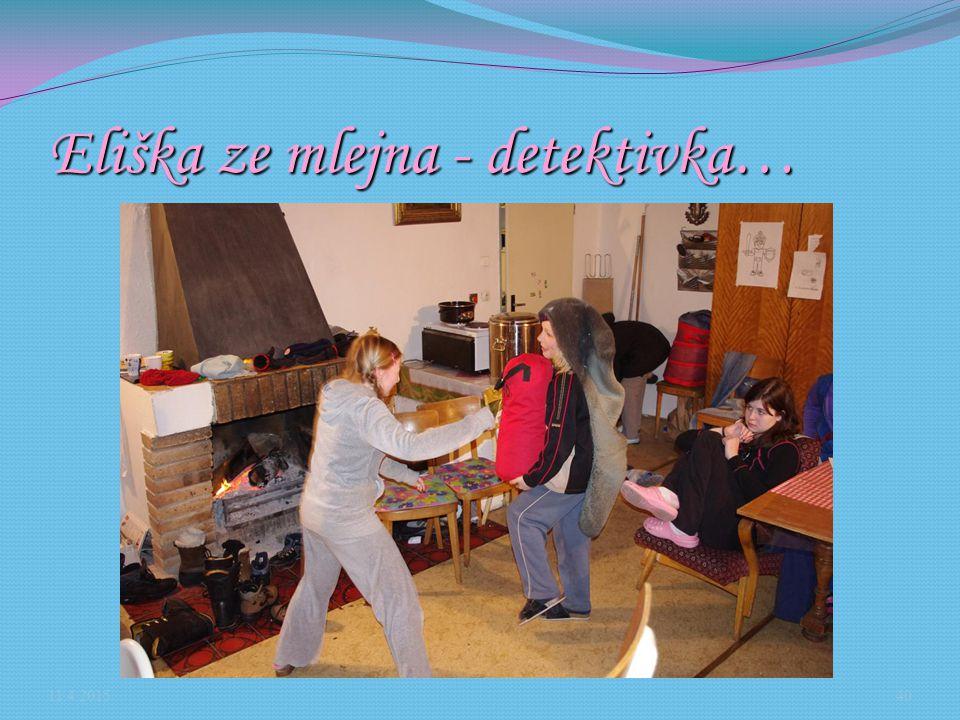 Eliška ze mlejna - detektivka… 11.4.201540