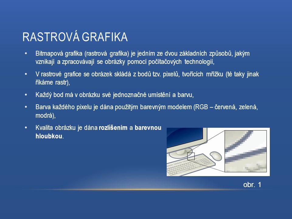 Bitmapová grafika (rastrová grafika) je jedním ze dvou základních způsobů, jakým vznikají a zpracovávají se obrázky pomocí počítačových technologií, V