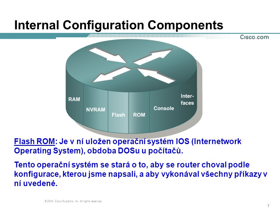18 © 2004, Cisco Systems, Inc.All rights reserved.