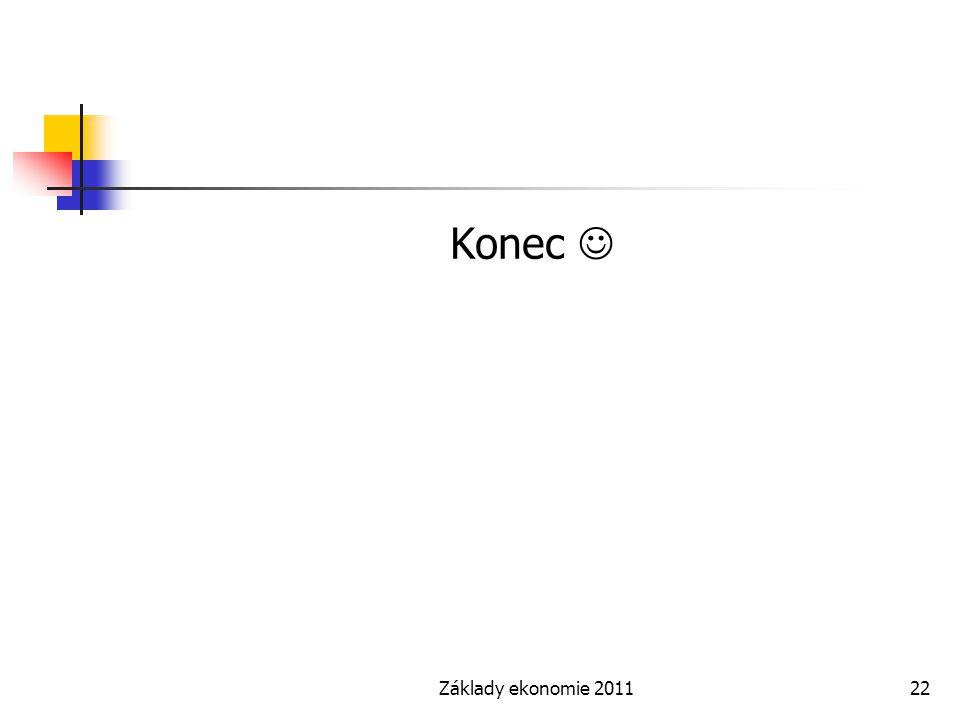 Základy ekonomie 201122 Konec