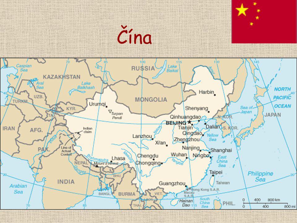 Politické reformy Čínské vedení odmítá V zemi jsou porušována lidská práva 1997 přičlenění Honkongu (brit.) 1999 přičlenění Macaa (portugal.) Honkong Macao