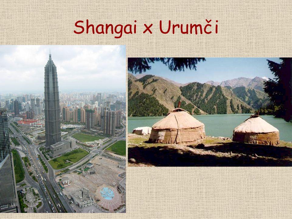 Shangai x Urumči