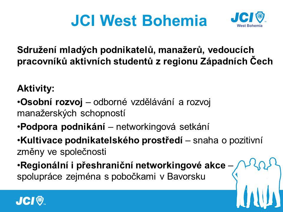 Sdružení mladých podnikatelů, manažerů, vedoucích pracovníků aktivních studentů z regionu Západních Čech Aktivity: Osobní rozvoj – odborné vzdělávání a rozvoj manažerských schopností Podpora podnikání – networkingová setkání Kultivace podnikatelského prostředí – snaha o pozitivní změny ve společnosti Regionální i přeshraniční networkingové akce – spolupráce zejména s pobočkami v Bavorsku