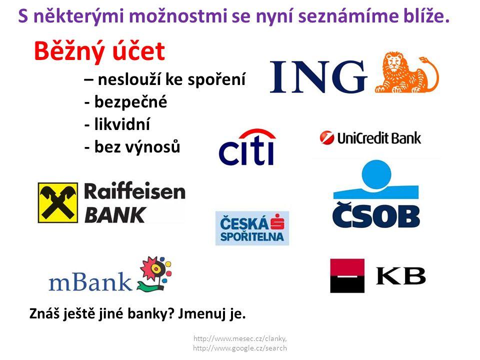http://www.mesec.cz/clanky, http://www.google.cz/search S některými možnostmi se nyní seznámíme blíže.