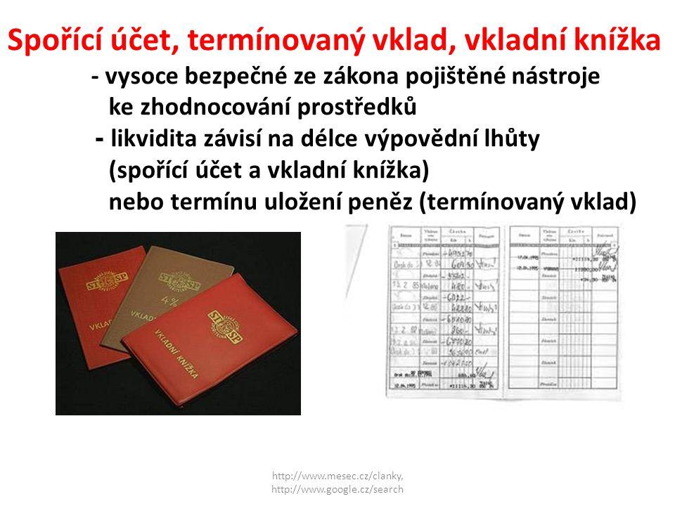 http://www.mesec.cz/clanky, http://www.google.cz/search Stavební spoření -výhodné zejména díky státnímu příspěvku, který činí v současné době 15 % z vkladu s maximální výší 3 000 Kč.