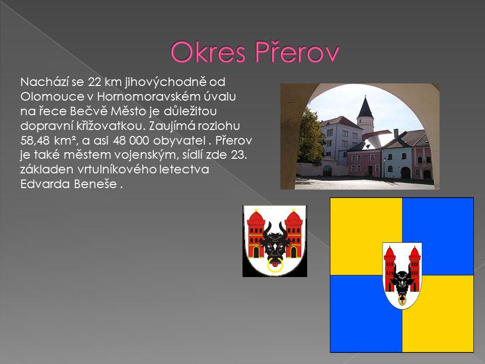 Nachází se 22 km jihovýchodně od Olomouce v Hornomoravském úvalu na řece Bečvě Město je důležitou dopravní křižovatkou.