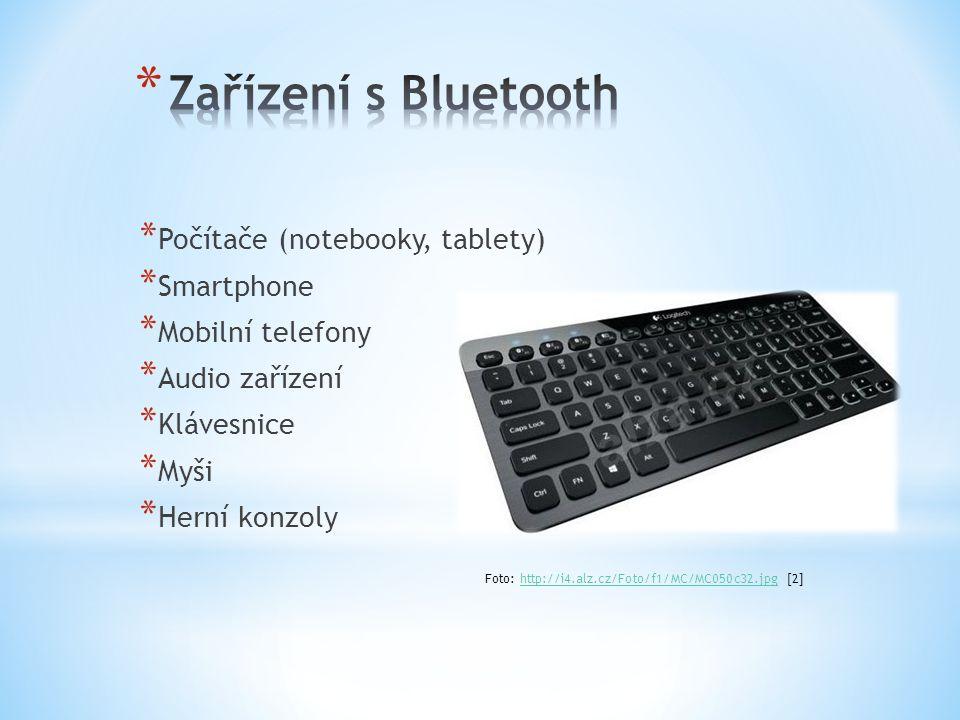 * Počítače (notebooky, tablety) * Smartphone * Mobilní telefony * Audio zařízení * Klávesnice * Myši * Herní konzoly Foto: http://i4.alz.cz/Foto/f1/MC/MC050c32.jpg [2]http://i4.alz.cz/Foto/f1/MC/MC050c32.jpg