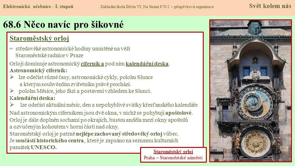 68.6 Něco navíc pro šikovné Elektronická učebnice - I.