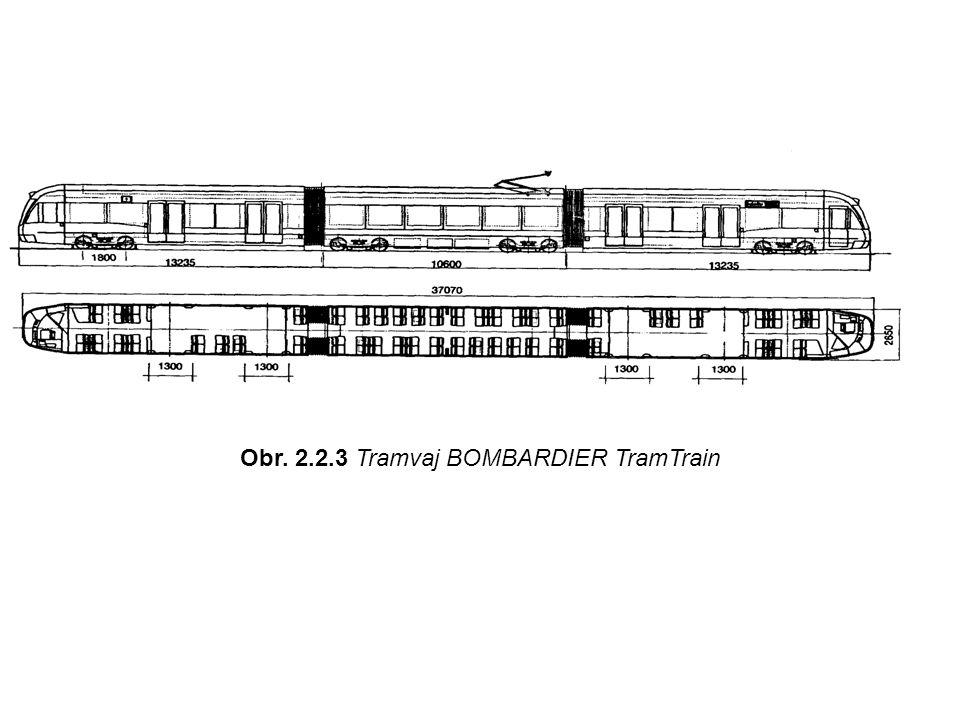 Obr. 2.2.3 Tramvaj BOMBARDIER TramTrain