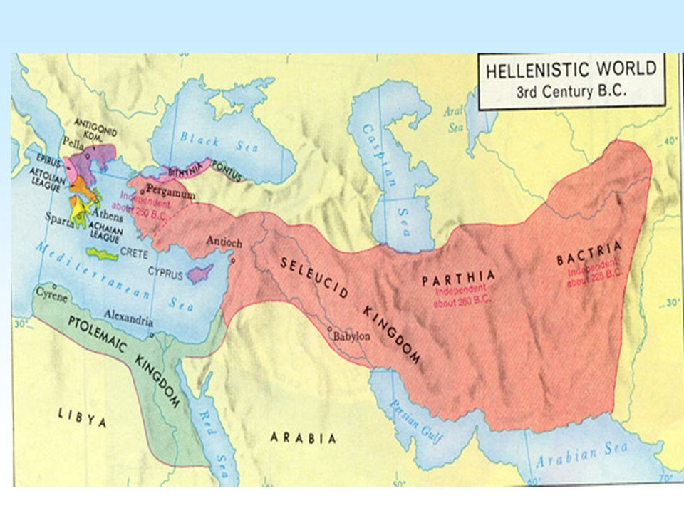 Z bojů vzešly tzv. nové státní útvary Z nich nejmocnější tři helénistické říše: Ptolemaiovská Egypt Seleukovská Sýrie Antigonovská Makedonie