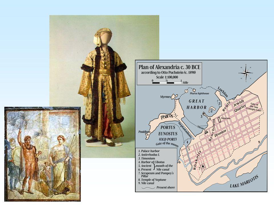 Helénismus Období od Alexandrových výbojů do r.30 př.n.l. (=dobytí Egypta Římem) Vzájemné působení řecké a perské kultury, prolínání hospodářských a p