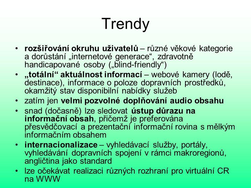 Vybrané trendy - personalizace