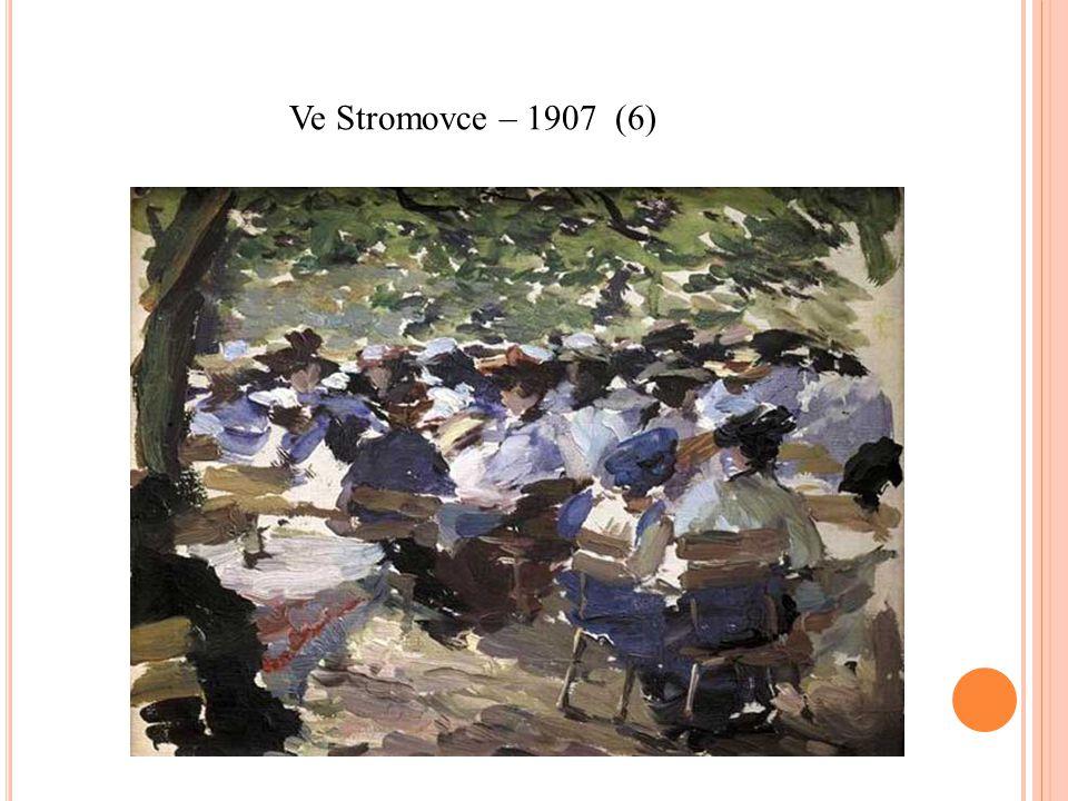 Ve Stromovce – 1907 (6)