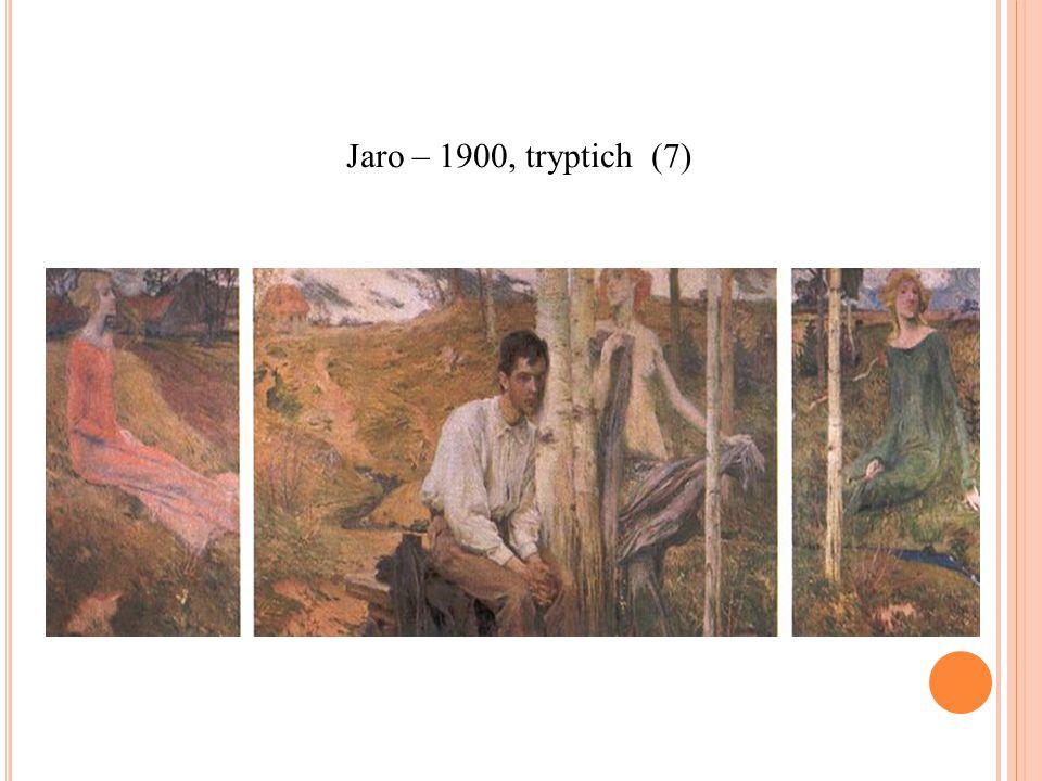 Jaro – 1900, tryptich (7)