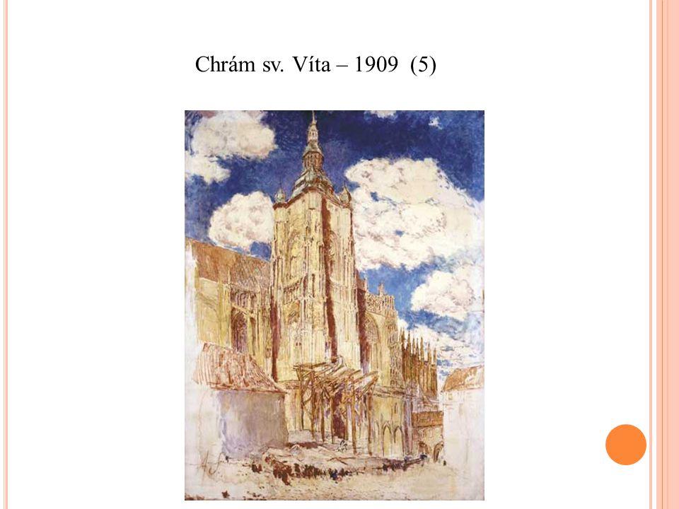 Chrám sv. Víta – 1909 (5)