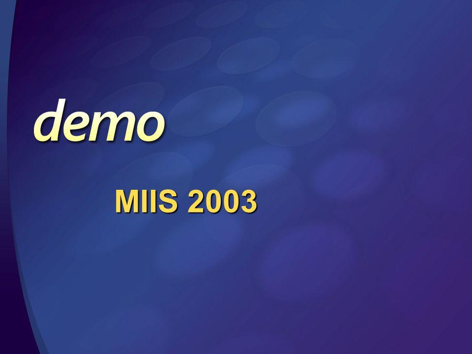 MIIS 2003