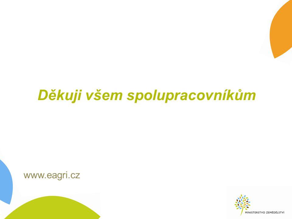 Děkuji všem spolupracovníkům www.eagri.cz