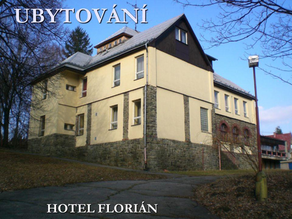 UBYTOVÁNÍ HOTEL FLORIÁN