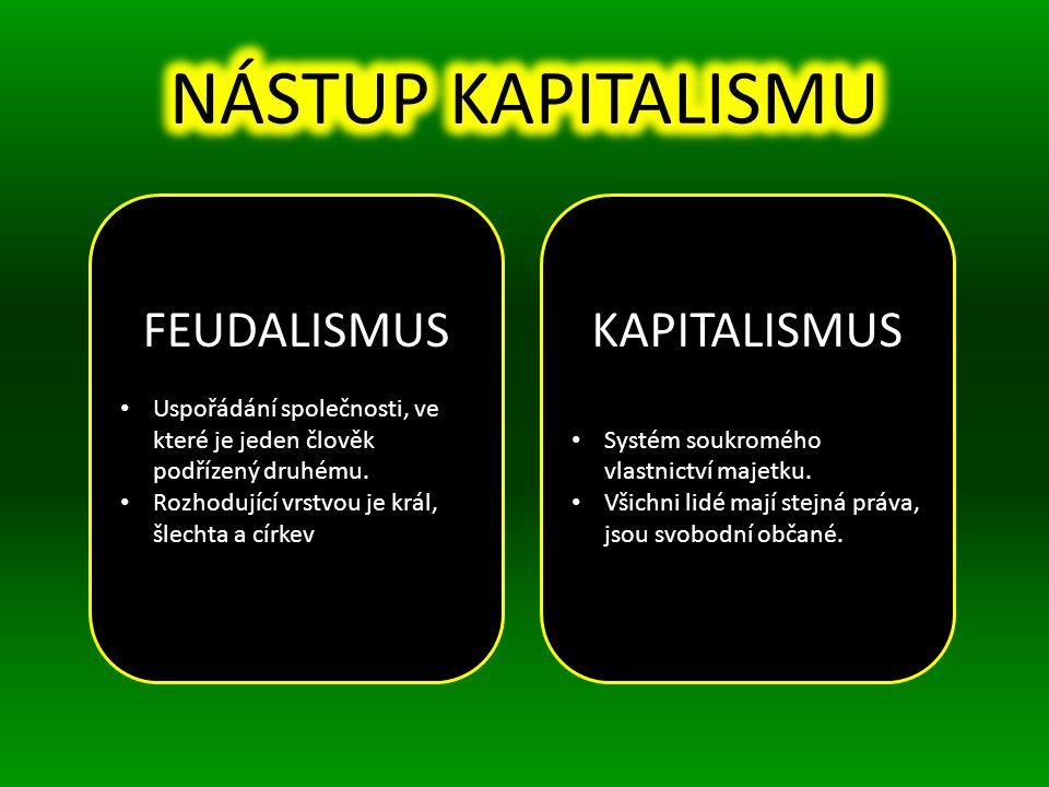 FEUDALISMUS Uspořádání společnosti, ve které je jeden člověk podřízený druhému.