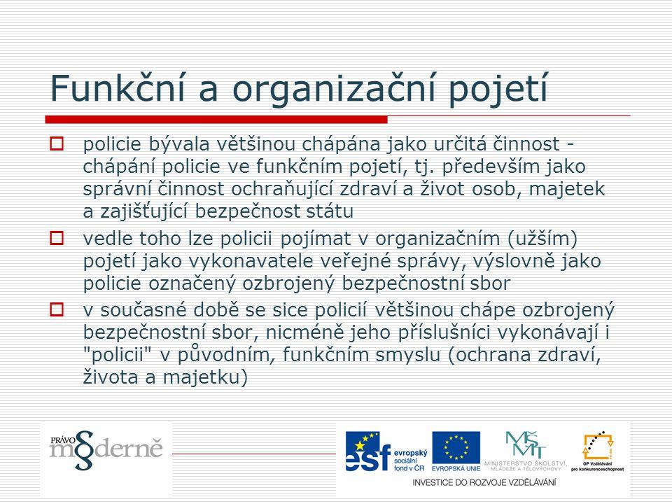 Parlamentní kontrola Policie ČR a GIBS  1.výbor pro bezpečnost PS  2.