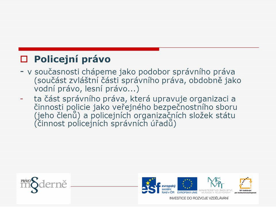 5.Organizace státní policie  1.