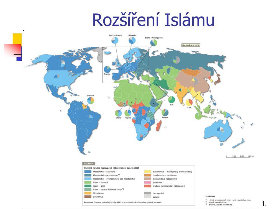 Rozšíření Islámu 1.