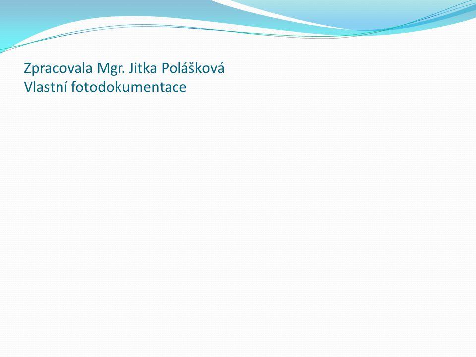 Zpracovala Mgr. Jitka Polášková Vlastní fotodokumentace