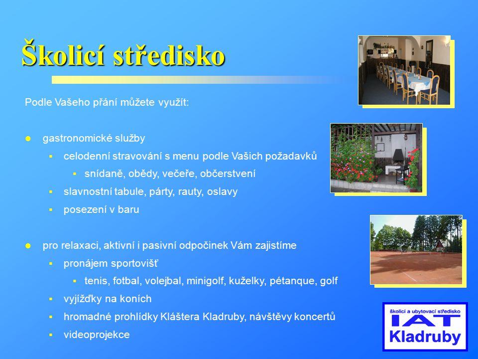 Penzion Dále Vám nabízíme celoroční ubytování v turisticky atraktivní oblasti.