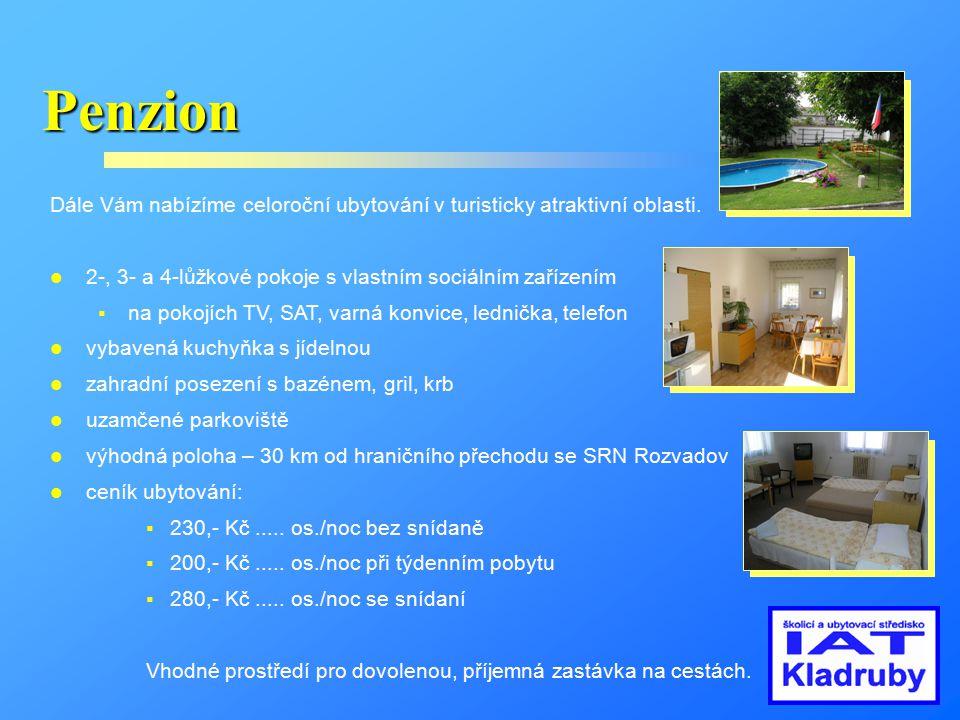 Městečko Kladruby Příjemné prostředí pro sport, zábavu i odpočinek.