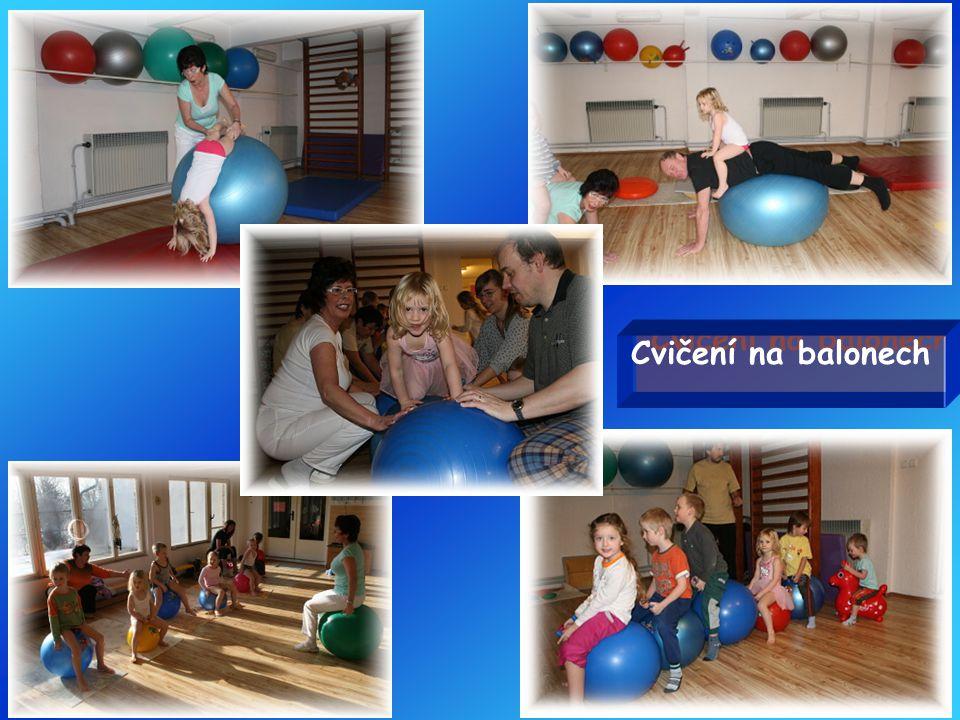 Cvičení na balonech