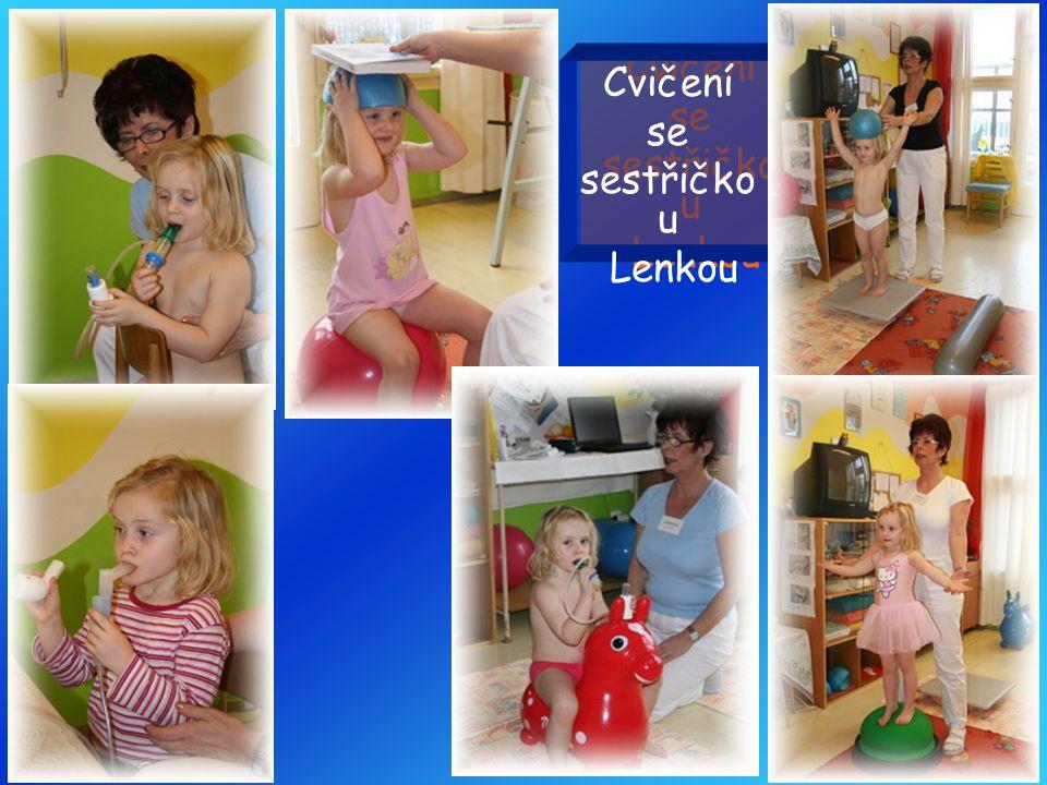 Cvičení se sestřičko u Lenkou Cvičení se sestřičko u Lenkou