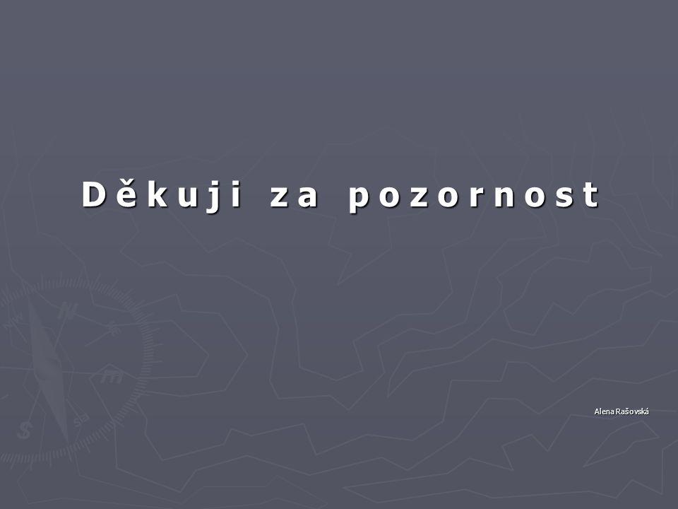 D ě k u j i z a p o z o r n o s t Alena Rašovská Alena Rašovská