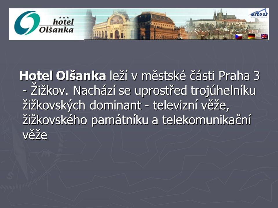 Doprava ►V►V►V►Vzdálenost od historického centra města Prahy je maximálně 10 minut.