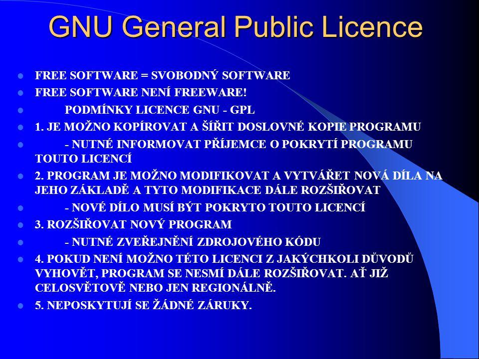 Turbolinux Vývoj v USA V Japonsku údajně populárnější než Windows Široká podpora hardware a digitálních zařízení Možnost české lokalizace X-Window Cen