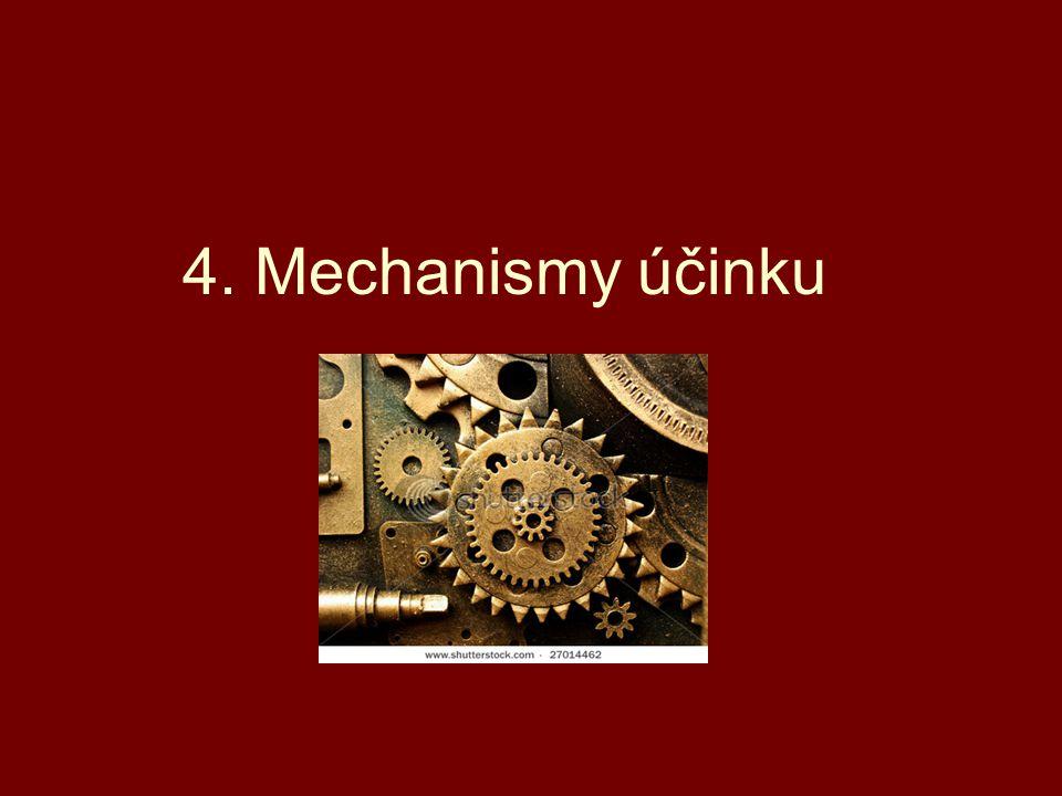 4. Mechanismy účinku