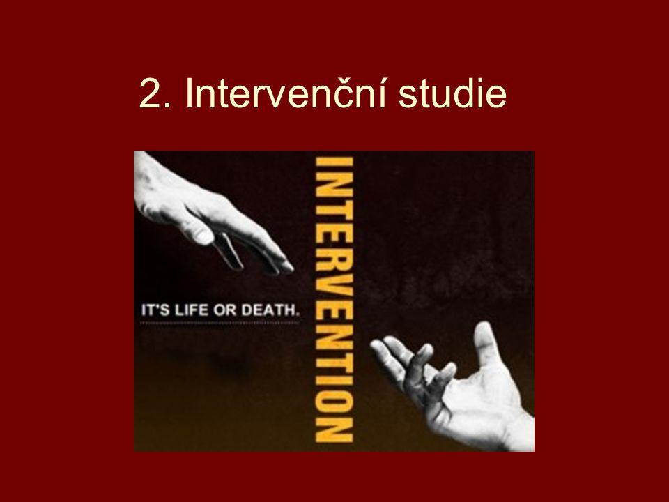 2. Intervenční studie