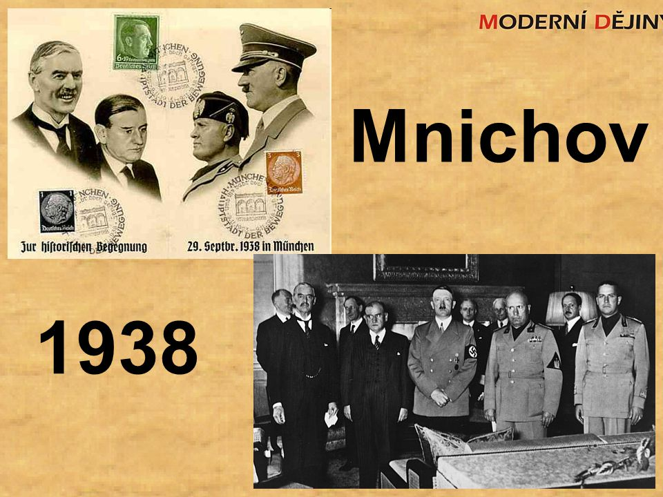 1938 Mnichov