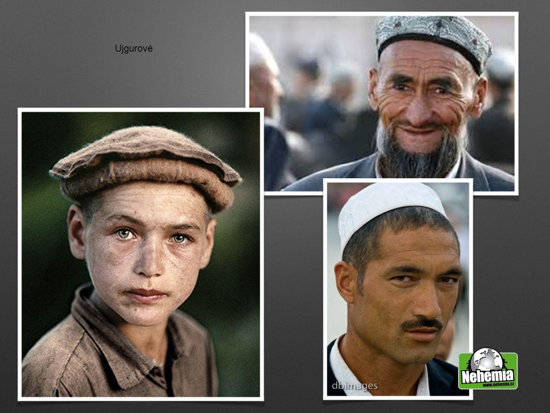 Modlitby za Ujgury za distribuci a použití filmu Ježíš a nově přeloženého Nového zákona do ujgurského jazyka za distribuci a použití filmu Ježíš a nově přeloženého Nového zákona do ujgurského jazyka za šíření evangelia Ujgurům, obzvláště prostřednictvím čínské církve za šíření evangelia Ujgurům, obzvláště prostřednictvím čínské církve ochrana nově obrácených v oblasti Xinjiang ochrana nově obrácených v oblasti Xinjiang aby mladí věřící našli křesťanské partnery aby mladí věřící našli křesťanské partnery za obrácení klíčových muslimů v dané oblasti za obrácení klíčových muslimů v dané oblasti