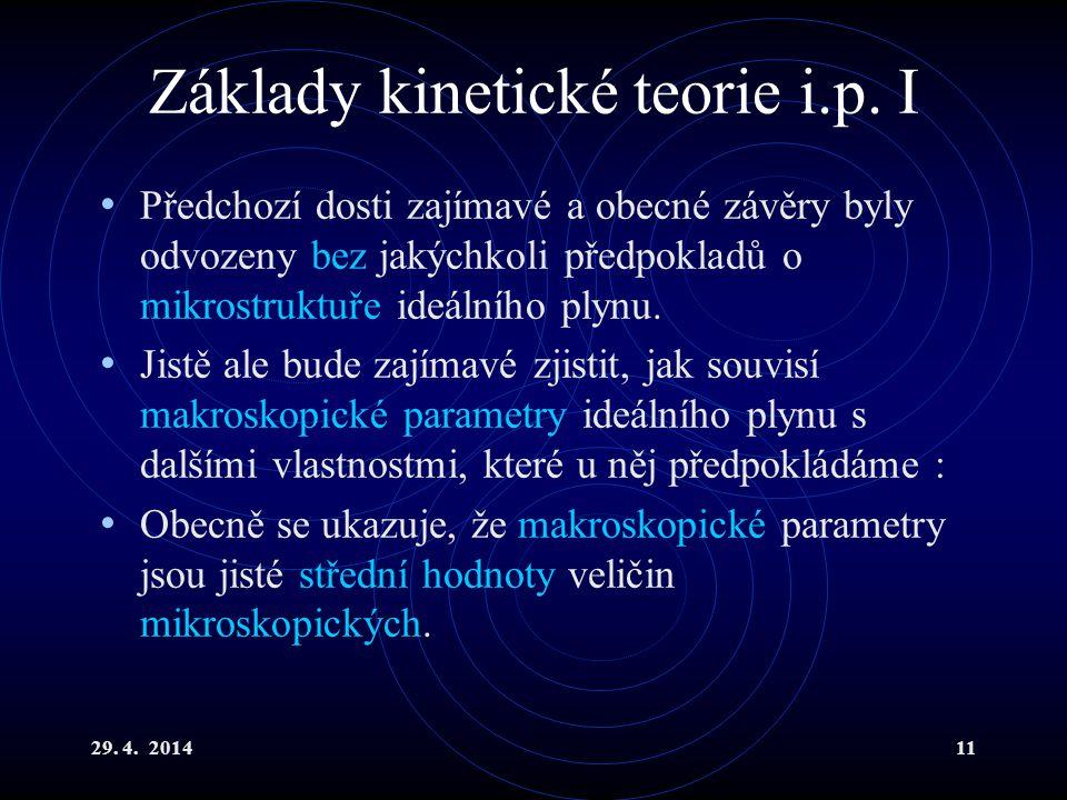 29.4. 201411 Základy kinetické teorie i.p.