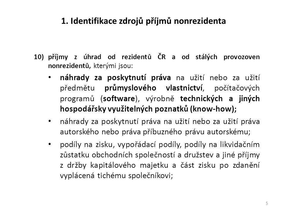 3.Registrační povinnost nonrezidentů.