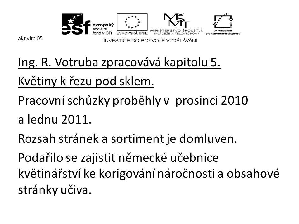 aktivita 05 Ing.Z.Nachlinger zpracovává kapitolu: - 1.2.4.